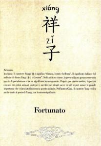 03 Cinese - Fortunato