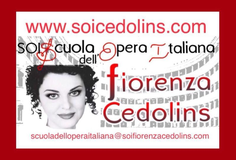 SOI Scuola dell'Opera Italiana Fiorenza Cedolins – 1° Concorso di Canto Lirico Virtuale
